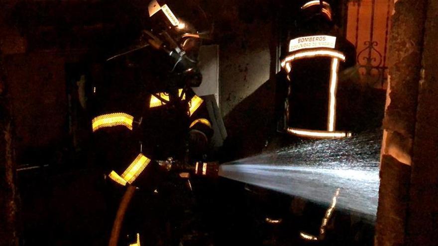 Arde una casa en el municipio madrileño de El Molar, sin heridos