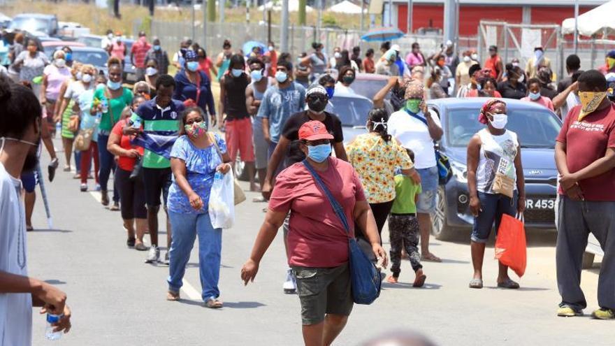 Al momento, en el país caribeño 116 personas han dado positivo al virus, mientras que otras ocho han fallecido.