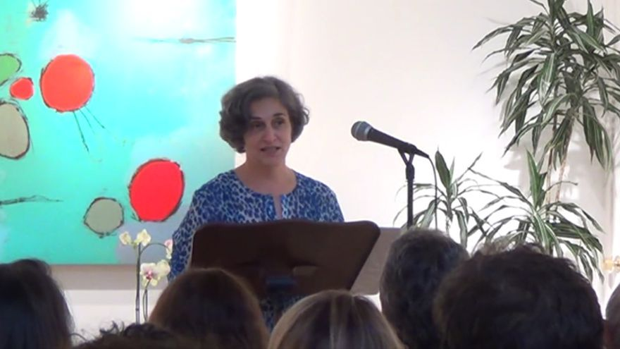 Jayne Benjulian, antigua escritora de discursos de Apple