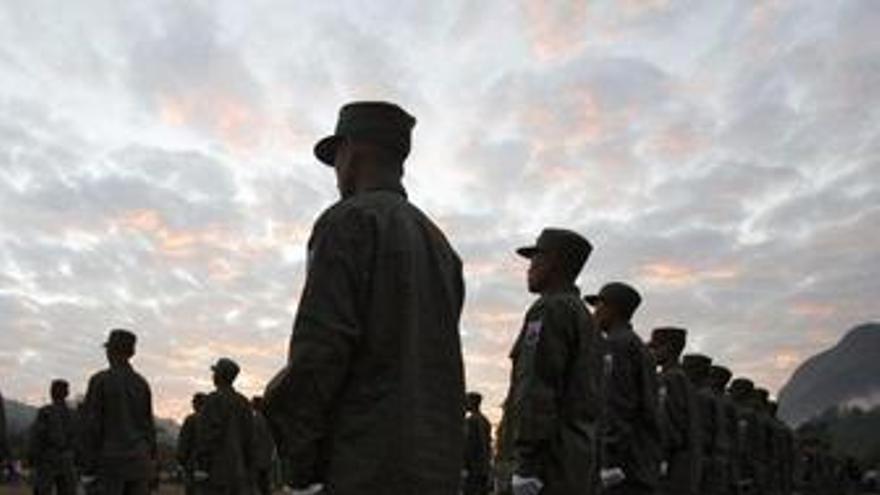 Ejército de Birmania, soldados, militares