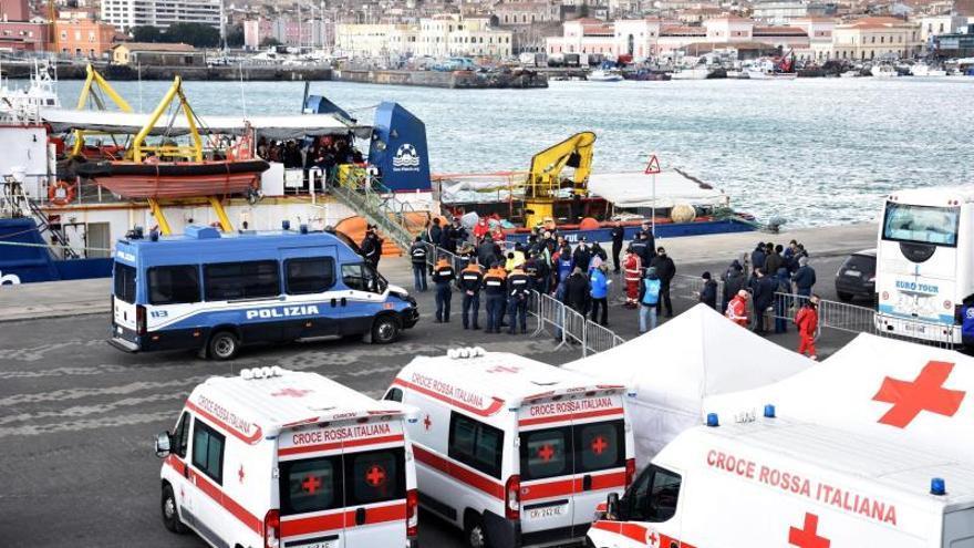 Más de mil muertos en el mar en un año de puertos cerrados en Italia, según una ONG