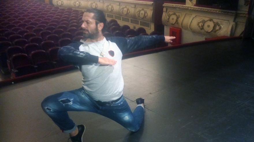 El bailarín Rafael Amargo