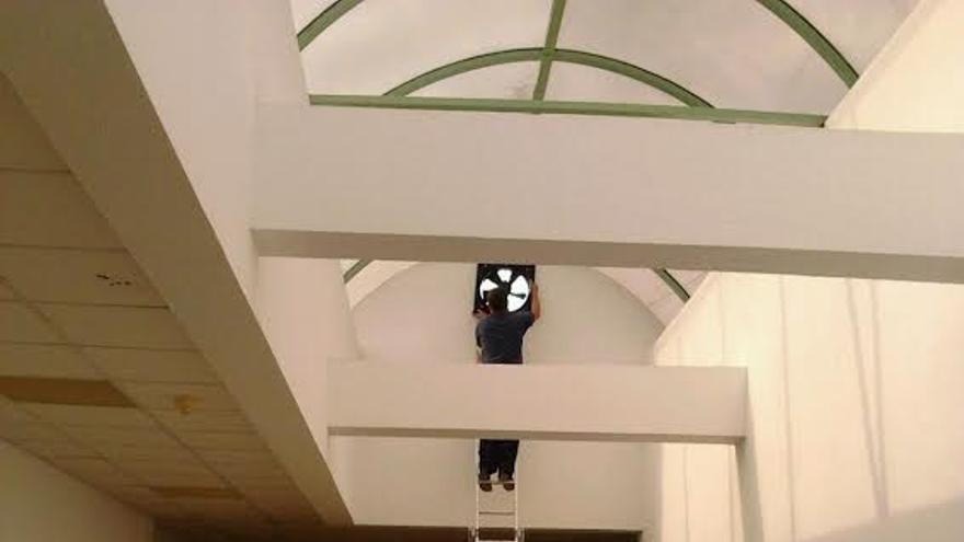 La ventilación del Centro de Salud se ha mejorado. Foto: CC