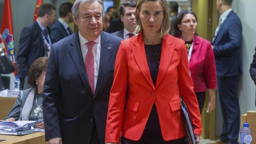 La UE se compromete a dar 560 millones de euros en 2018 a Siria y la región