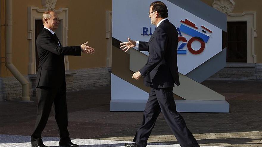 Rajoy pide al G20 políticas que consoliden la clara recuperación de España