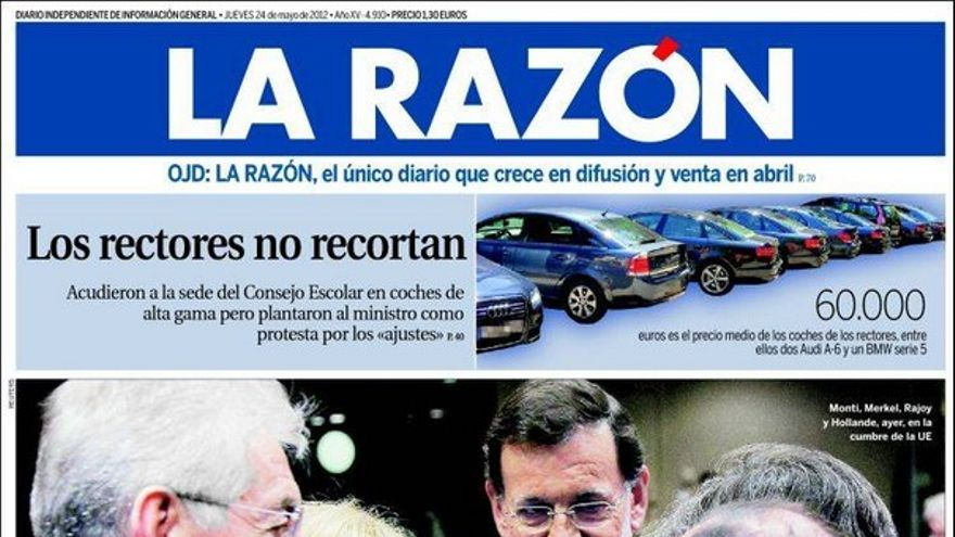 De las portadas del día (24/05/2012) #9
