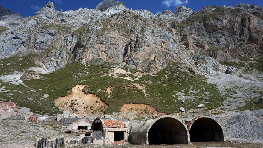 Parte de los restos de Las Mánforas hoy.