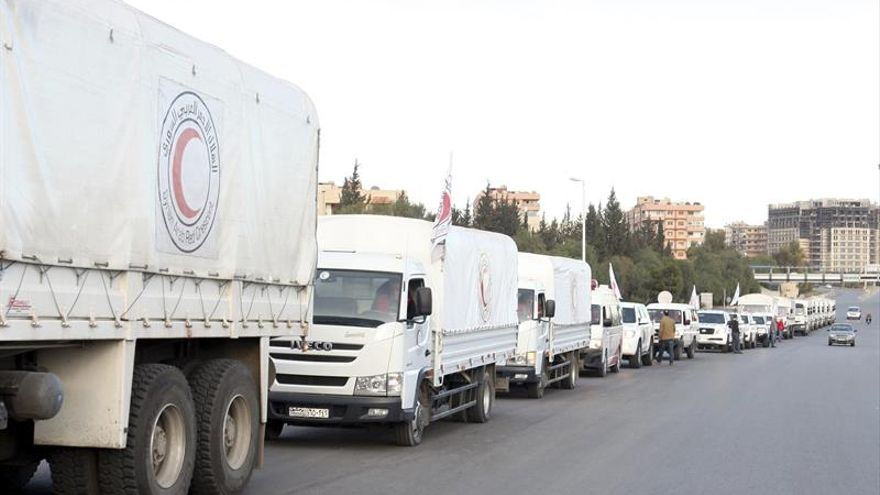 Cruz Roja pide a Siria que permita la llegada de un convoy de ayuda a la zona sitiada
