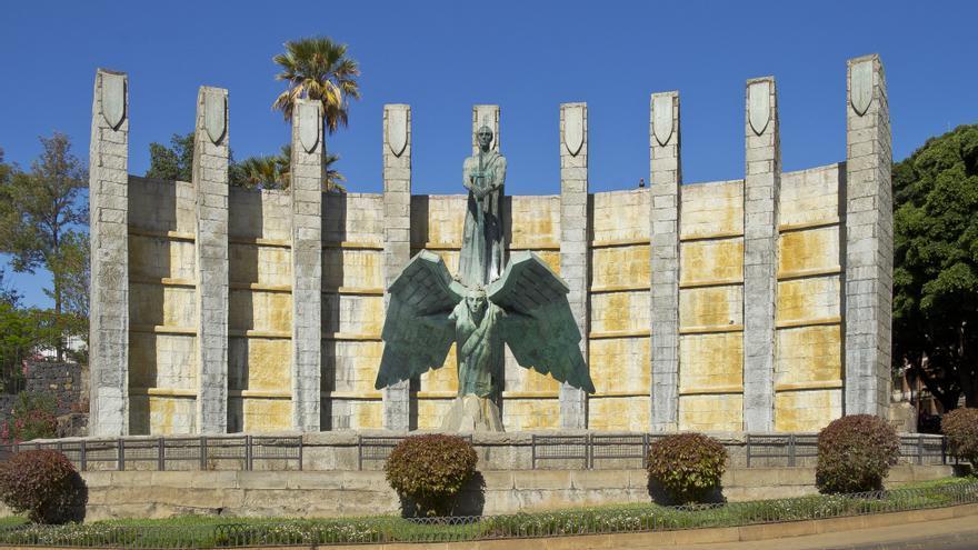 Monumento dedicado a Francisco Franco en Santa Cruz de Tenerife