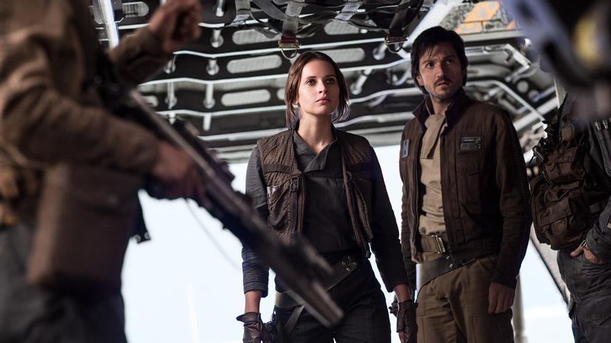 Fotograma de 'Rogue One'. Lucasfilm.