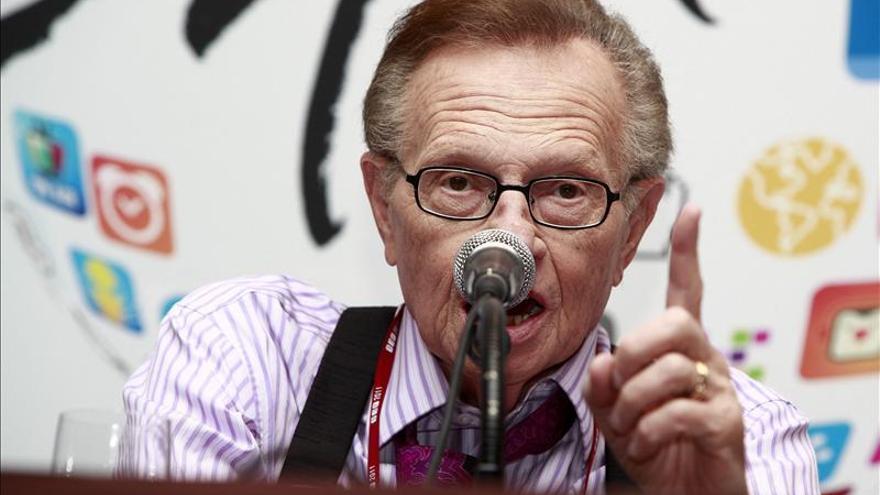 Larry King desmiente que vaya a trabajar para el canal ruso RT