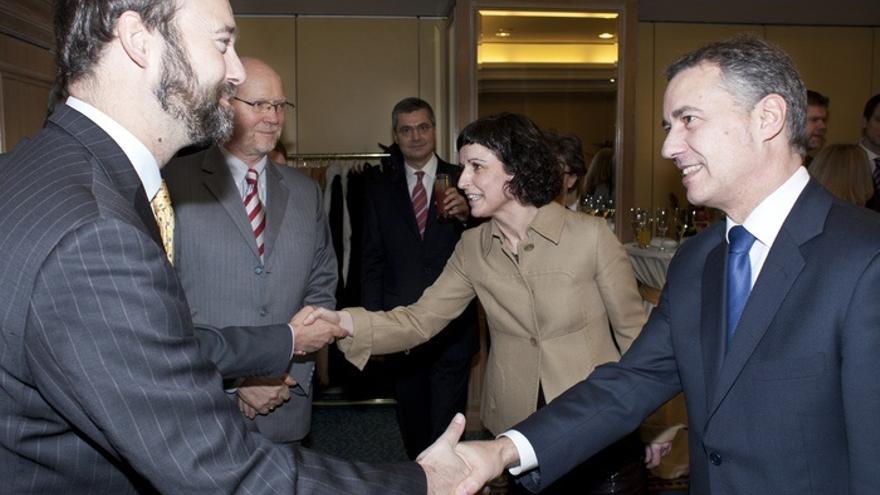 Urkullu ha expuesto la situación de Euskadi ante los embajadores de la UE