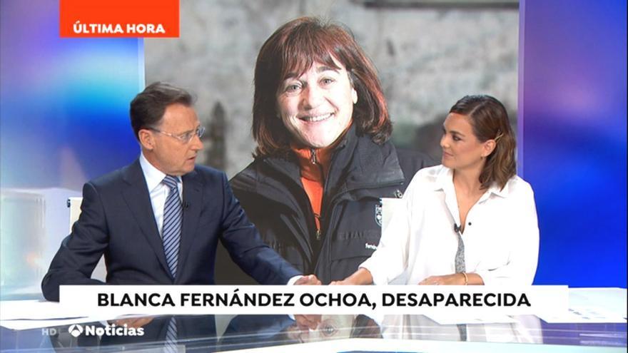 Matías Prats rompe el esquema de su informativo con la desaparición de Blanca Fernández Ochoa
