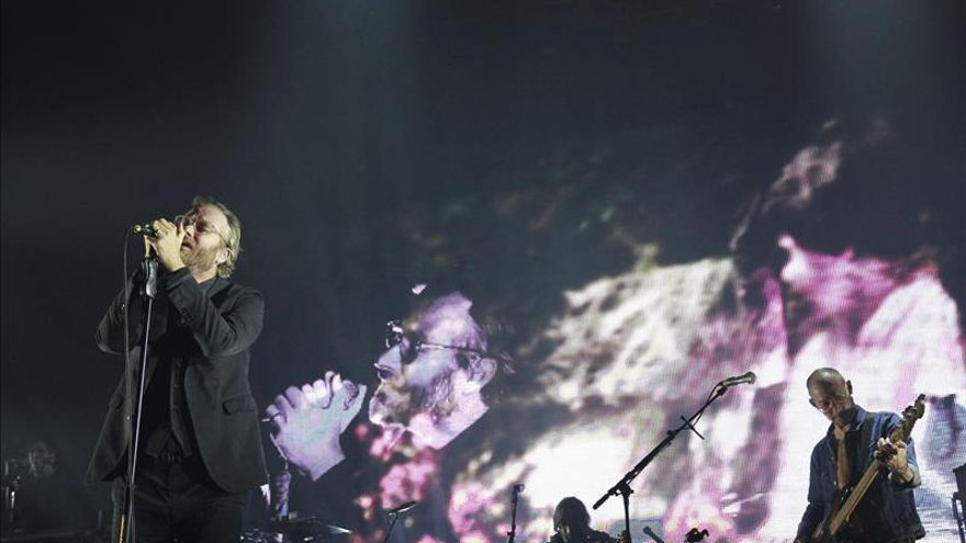 The National se sobreponen con oficio a un recinto inhóspito en Madrid