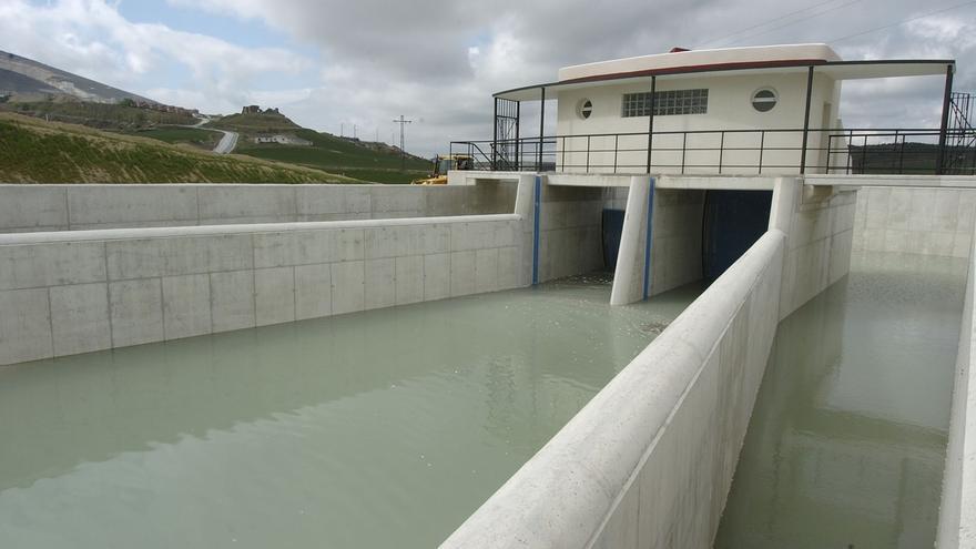 """El PPN exige al Ejecutivo foral que """"retome de inmediato"""" las obras de ampliación del Canal de Navarra"""