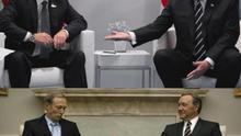 La reunión entre Trump y Putin ya la viste en House of Cards