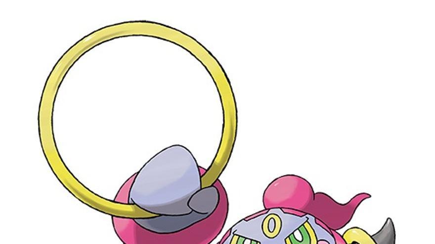 Hopa Pokémon Rubí Omega y Zafiro Alfa