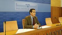 José Antonio Nieto, portavoz del PP andaluz en el Parlamento.