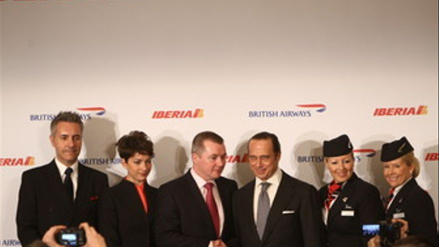 Fusión de British Airways (BA), e Iberia