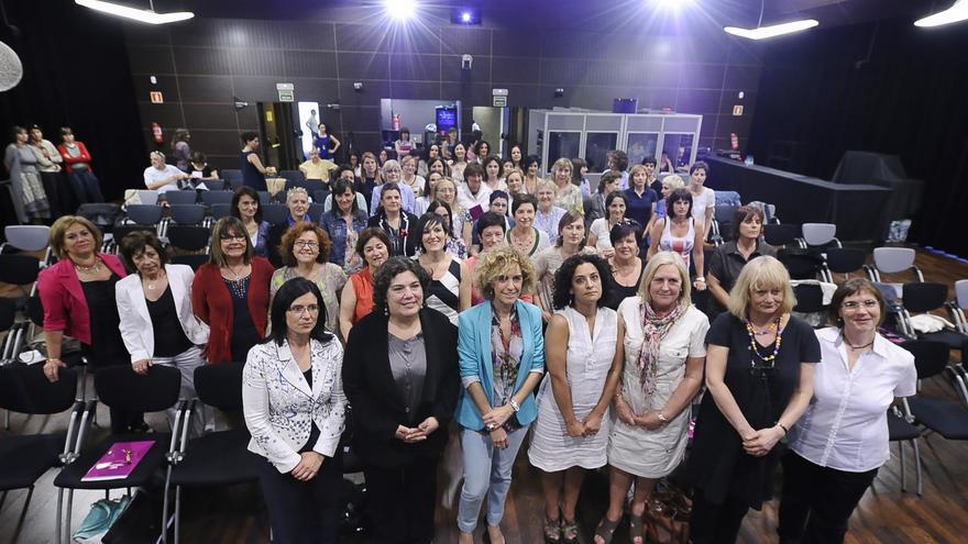 Encuentro de mujeres electas convocado por EUDEL en 2012.