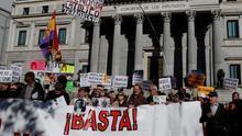 """Víctimas del franquismo piden en el Congreso declararlo """"régimen criminal"""""""
