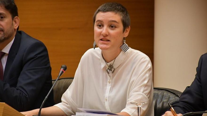 La diputada de Podem Cristina Cabedo