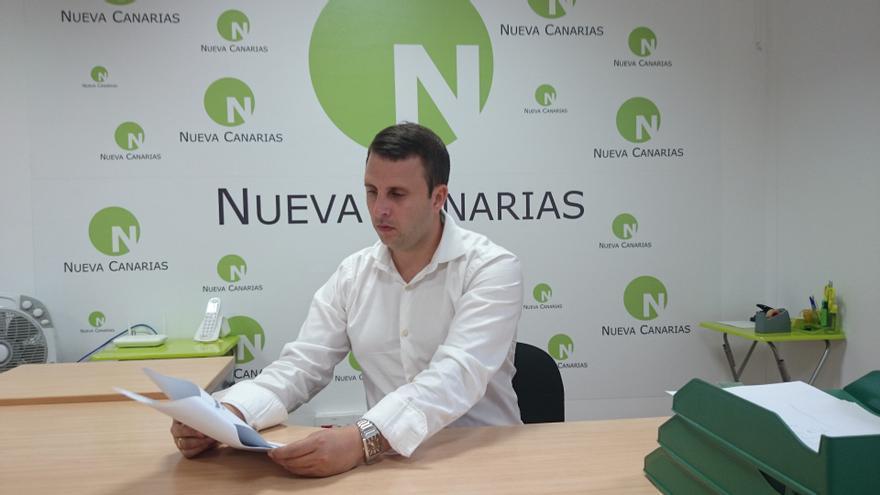 Alejandro Jorge, presidente de Nueva Canarias-Independientes de Fuerteventura (NC-IF)