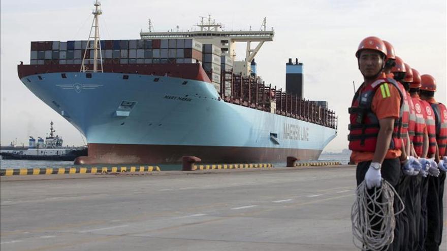 Las exportaciones chinas crecen un 0,9 por ciento en abril