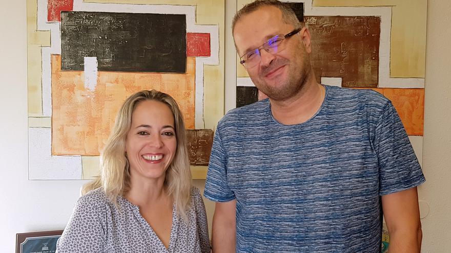 Susana Machín y José Emilio López.