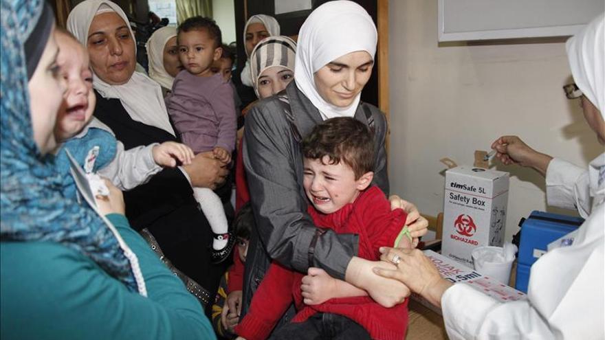 La ONU quiere vacunar a 20 millones de niños en Oriente Medio para frenar la polio