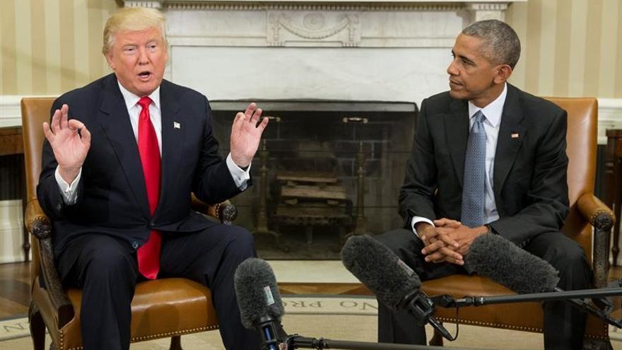 Trump dice que ha consultado con Obama algunos de sus nombramientos