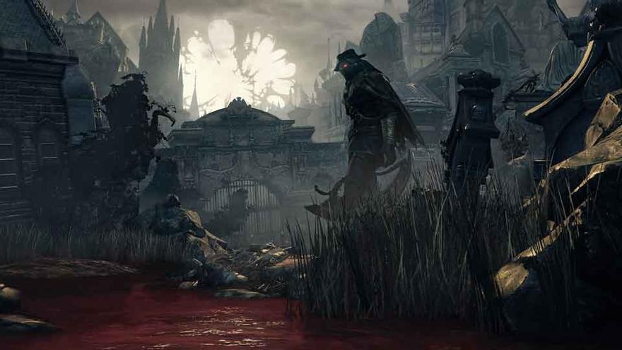 Bloodborne Antiguos Cazadores