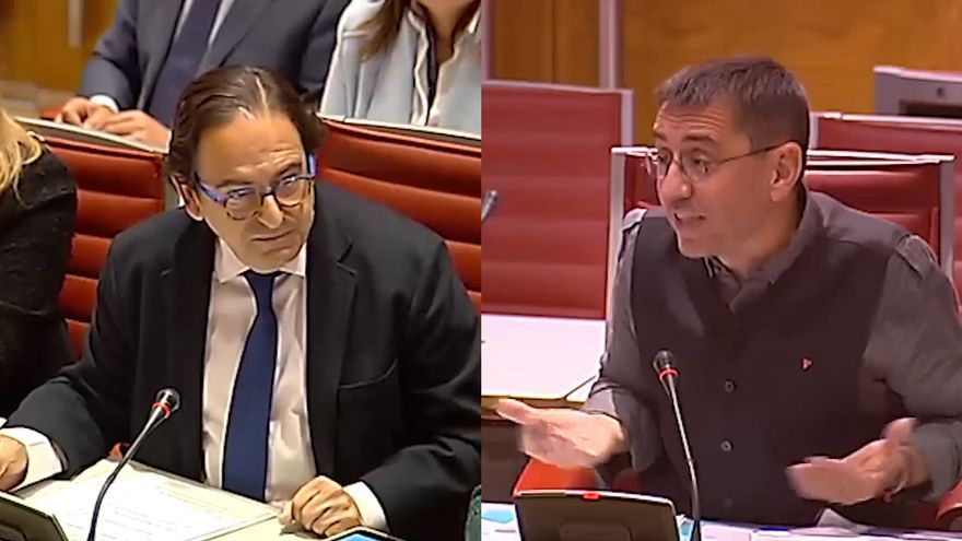 Luis Aznar y Juan Carlos Monedero