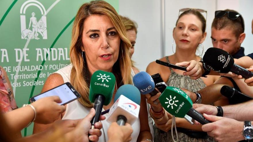 Díaz achaca a Rivera la ruptura del pacto y la enmarca en su batalla con Casado
