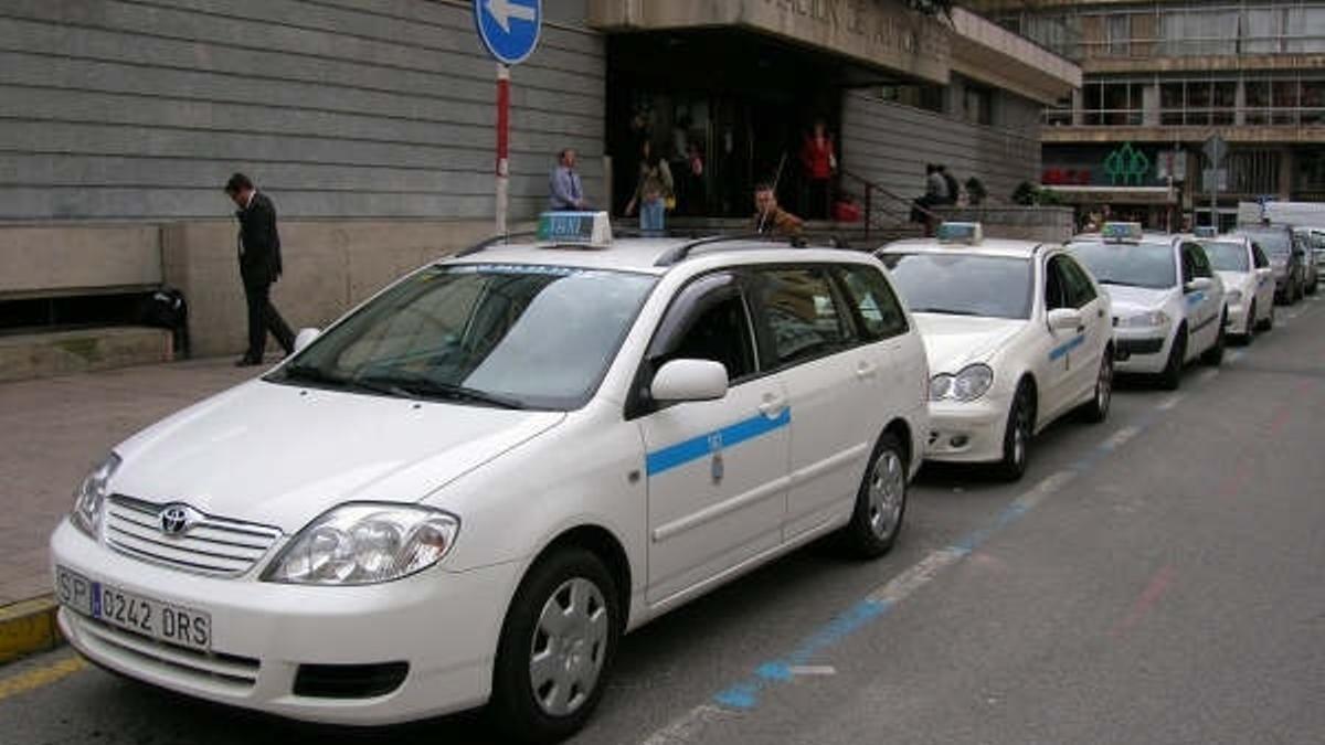 Taxis en Santander.