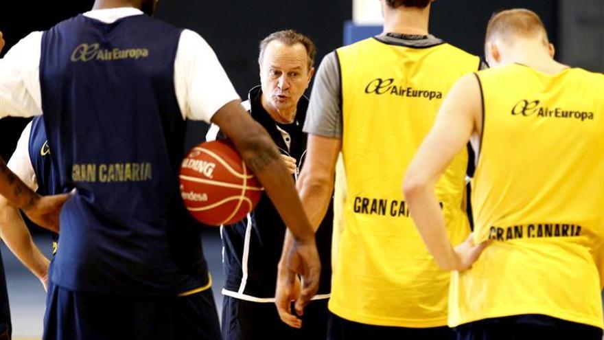 Copa del Rey Baloncesto. Entrenamiento Herbalife Gran Canaria