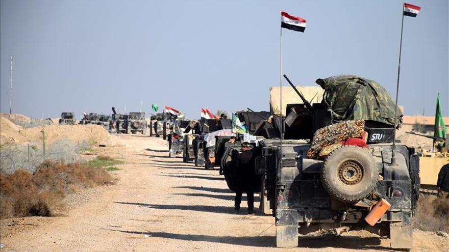 Las fuerzas iraquíes recuperan la mitad del barrio administrativo de Ramadi