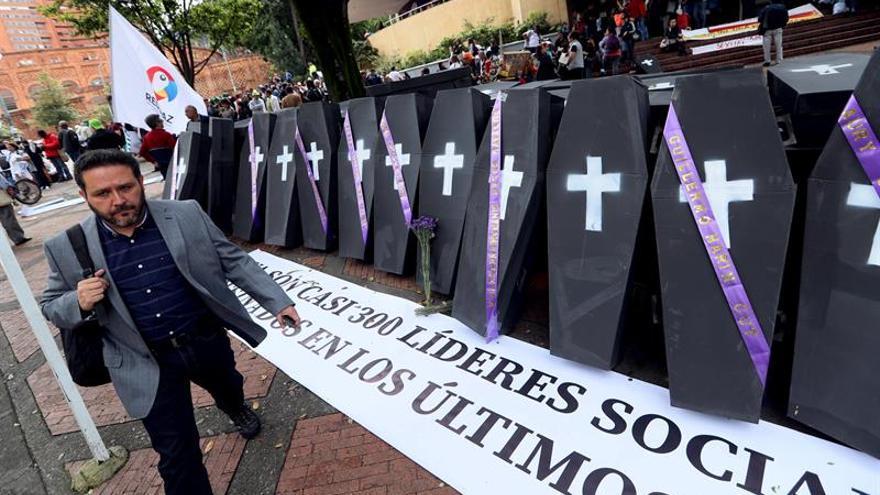 El asesinatos de líderes sociales, la principal preocupación de la ONU en Colombia