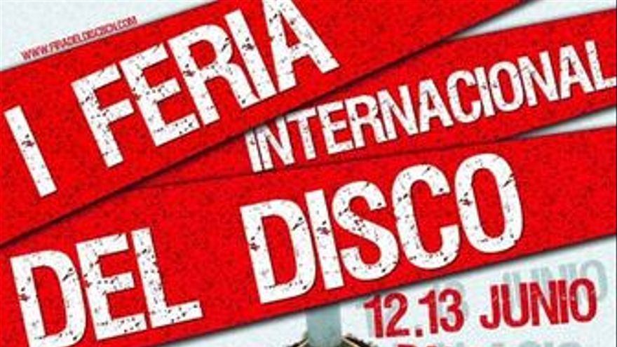 Cartel de la I Feria Internacional del Disco
