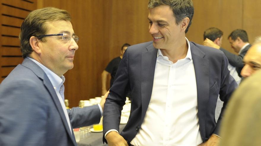 Pedro Sánchez y Fernández Vara participan este sábado en Badajoz en un acto de apertura del curso político