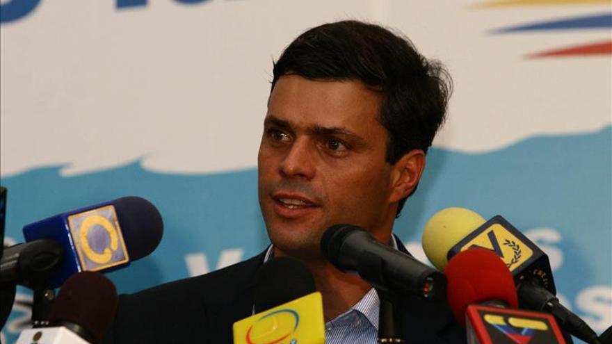 """López responsabiliza a Maduro de """"cualquier atentado"""" que pueda sufrir"""