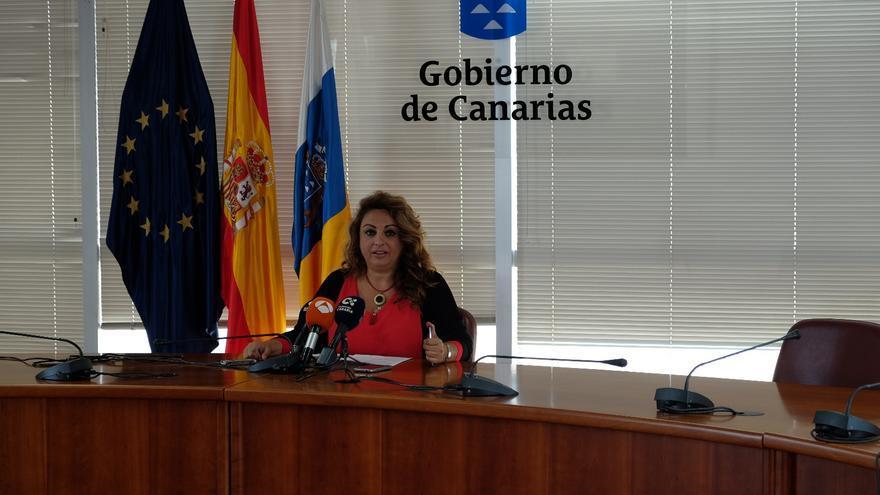 Cristina Valido, consejera de Empleo, Políticas Sociales y Vivienda del Gobierno de Canarias.