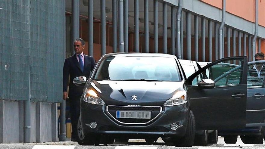 El juez Pedraz pone una fianza de 300.000 euros a Conde para salir de prisión