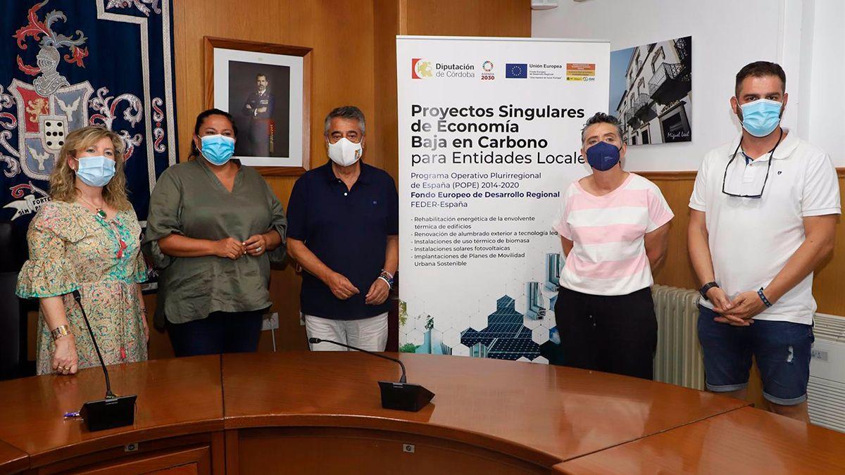 Presentación de los proyectos con fondos Feder en Hinojosa del Duque.