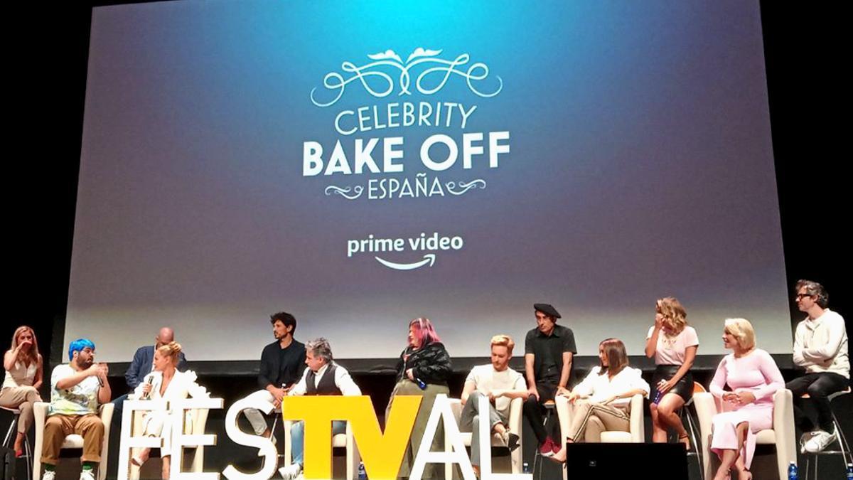 Presentación de 'Celebrity Bake Off España'