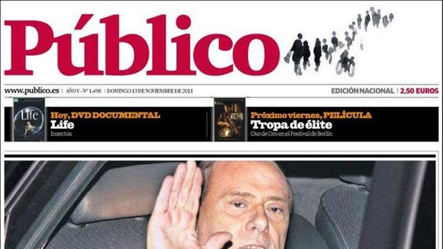 De las portadas del día (13/11/2011) #12