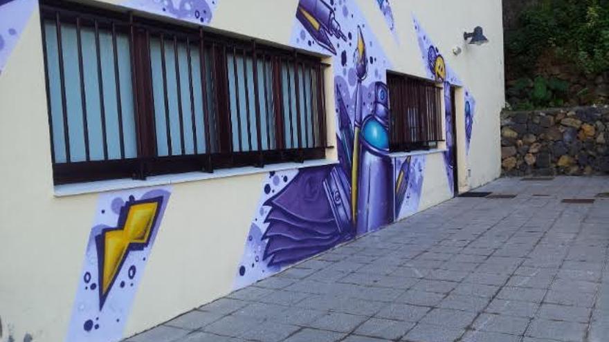 Local del Punto de Información Juvenil de San Andrés y Sauces.