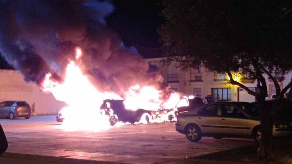 Incendio en Posadas.