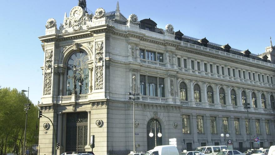 Fachada del Banco de España. EFE