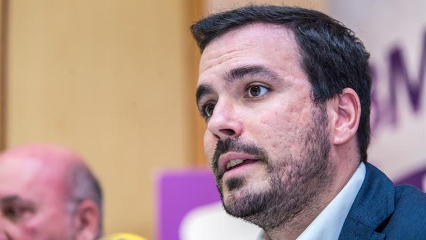 """IU critica la """"deriva electoralista"""" de Cs tras el acuerdo electoral con UPN"""